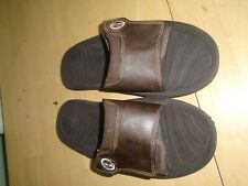 Timberland brown leather sandals sliders size uk 7 us 8 eu 41