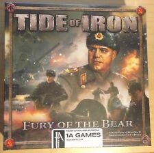 Tide of Iron Fury of the Bear New In Shrink!