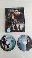 SAGA CREPUSCULO TWILIGHT 2 DVD + LIBRO EDICION ESPECIAL ESPAÑOL ENGLISH - 3T