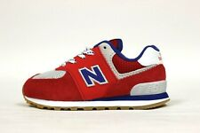New Balance Toddler's IC574SOR Shoes (TD) NEW AUTHENTIC Red/Navy/Grey IC574SOR