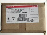 """Wiremold Legrand 575CHA  3/4"""" Bottom Housing With J-Box ** New, Free Shipping **"""