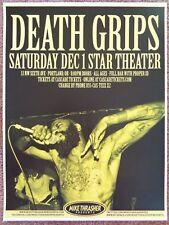 DEATH GRIPS 2012 Gig POSTER Portland Oregon Concert
