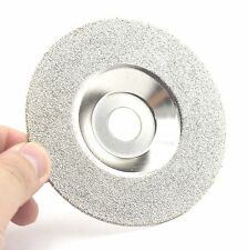 "4"" Grit 60 Diamond coated grinding disc wheel For Angle Grinder  Coarse Glass"
