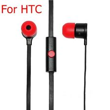 3.5mm Original Genuine Stereo Earphone Headset With Remote Mic for HTC X920E 8S