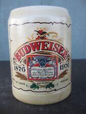 Anheuser-Busch Early Stein 1976 Budweiser Centennial CS22