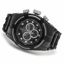 Invicta Men's Jason Taylor Analog Display Swiss Quartz Chrono Black Watch NWT