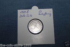 50 Reichspfennig 1939 B Jaeger Nr.365 Dritte Reich RAR!!