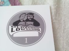 Autoaufkleber Bud Spencer Terence Hill Plakette Nr.2 in silber