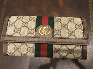 Gucci Ophedia Continental Wallet New
