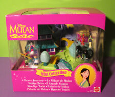 NEU ♥ Polly Pocket Mini Disney ♥ Mulan Palast ♥ Brave Journey ♥ OVP ♥ NEW ♥1997♥