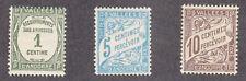 Andorra-French - 1935-41 - SC J16-18 - HH