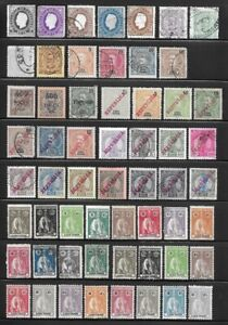 Collection of Old Stamps - Cape Verde . . . . . . . (3 pages)