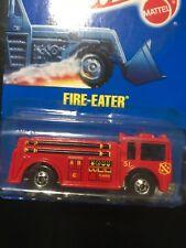 1990 Hot Wheels Fire-Eater Truck #9640 - Brand New
