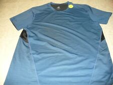 Champion Size Xl blue short sleeve men's athletic top New