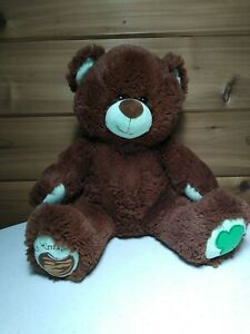 Build A Bear Girl Scouts Thin Mint Cookies Chocolate Brown Mint Green Teddy Bear