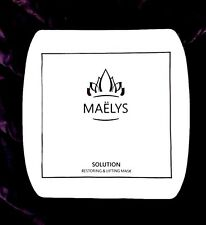 MAELYS Restoring & Lifting Mask The Best Beauty Masque Great Results