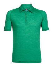 ICEBREAKER-Mens Sphere Short  Sleeve Polo- leichtes Herrenshirt aus feiner Wolle