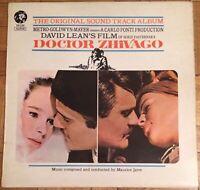 Doctor Zhivago - Soundtrack Album LP Record Vinyl MGM Records 2315 030 1966