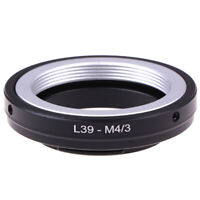 L39 m39 Lens to Micro 4/3 M43 Adapter Ring for Camera Mount HU