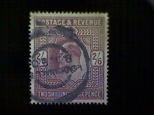 Stamp, Great Britain, Scott #139, used(o), 1902, King Edward Vii, 2/6, lilac