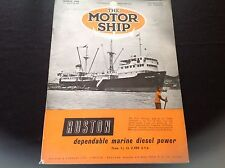 VINTAGE 1954 THE MOTOR SHIP RUSTON MARINE DIESEL POWER BEAVERBANK