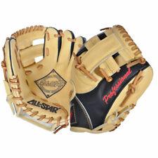 "All Star ""The Pick"" 9.5 Inch Infield Training Glove Black/Tan /Black Tan"