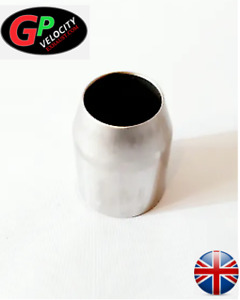 GP Universal 36mm to 51mm Motorcycle Exhaust Adapter Reducer Connector Pipe