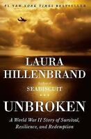 Unbroken: A World War II Story of Survival, Resilience, and Redemption , Hardcov