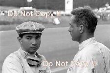 Phil Hill & Ricardo Rodriguez Ferrari Belgian Grand Prix 1962 Photograph