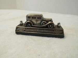 Metal Advertising Paperweight-- 1933 Chevrolet Sedan