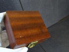 Neumann microfono legno-Box wodd CASE VINTAGE l'originale