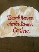 Vtg Brookhaven Ambulance Company Coveralls Lee Union Alls 1950s-1960s