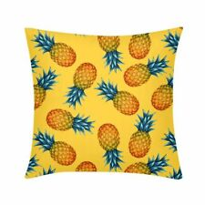 Custom Watermelon Pineapple Lemon Print Throw Pillow Cover Sofa Cushion Case