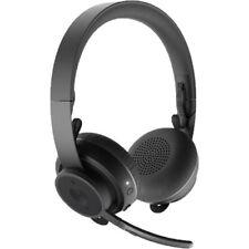 Logitech Zone Graphite Wireless Bluetooth Headset 981-000913 UC Noise Cancelling