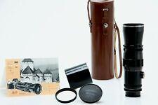 ALPA Tele Xenar 360mm f/5.5 Schneider Kreuznach Telephoto Lens w Case 392241
