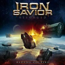 IRON SAVIOR - REFORGED-RIDING ON FIRE (LIM,DIGIPAK-EDITION)  2 CD NEU
