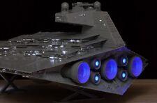 Lighting system kit optical fiber for Imperial Destroyer Star Wars ZVEZDA 9057