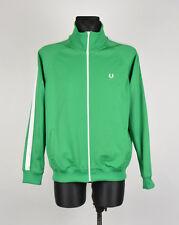 Fred Perry Vêtements de sport Hommes Tricot Veste Survêtement Taille L,Véritable