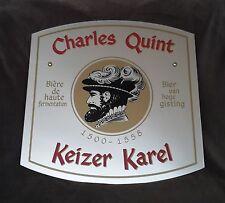 Charles Quint Keizer Karel Spiegel  Wandspiegel Reklame Werbung Bier