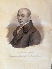 M Bonifazio Asioli Correggio musicista musica Fusinati originale 1840 Appiani