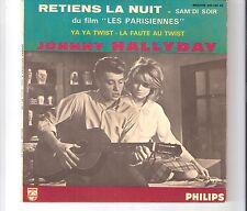 JOHNNY HALLYDAY - Retiens la nuit                        ***EP***