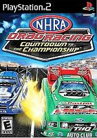 NEW NHRA Drag Racing: Countdown to the Championship (PlayStation 2, 2007) PS2