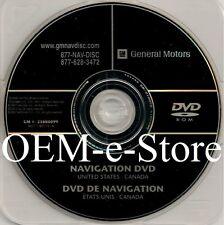 2008 2009 2010 Buick Enclave Lucerne Traverse Navigation DVD U.S Canada Map OEM