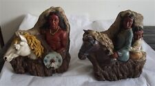 Chiefly Indian Figurines Set of 2