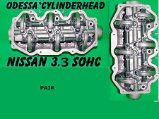 FOR NISSAN MERCURY PATHFINDER VILLAGER 3.3 SOHC 96-07 CYLINDER HEADS R0W0 &L0W0