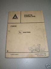 Gleaner / Allis Chalmers L Series Combine Parts Catalog