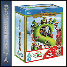 SHREK - COMPLETE QUADRILOGY- 1 2 3 & 4 BOXSET * BRAND NEW BLU-RAY