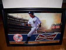 Budweiser NEW YORK YANKEES mirror NEW RELEASE ITEM 2013 Bud baseball