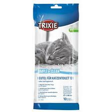 Trixie Simple'n'Clean Bags for Cat Litter Trays Box Disposable Medium, 10 Liners