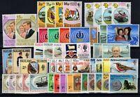 P126968/ BRITISH FALKLAND – 1968 / 1976 MINT LOT – CV 160 $